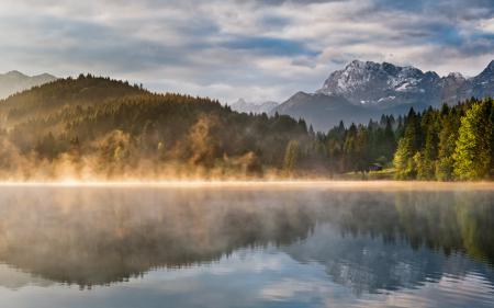 Заставки пейзажи, природа, вода, озеро