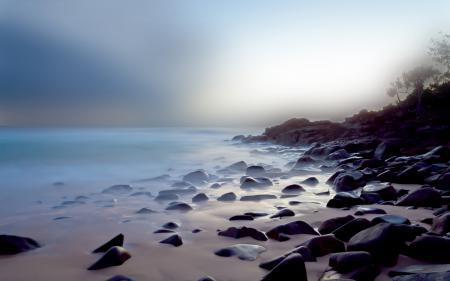 Фото пейзажи, природа, вода, море