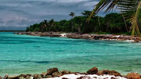 Фото остров, пляж, океан, карибы