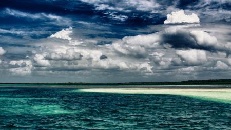 Фотографии хдр, hdr, небо, океан