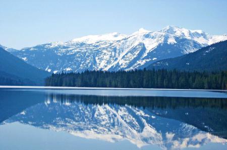 Заставки Пейзаж, природа, горы, снег