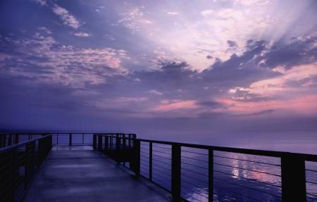 Фото море, вода, гладь, небо
