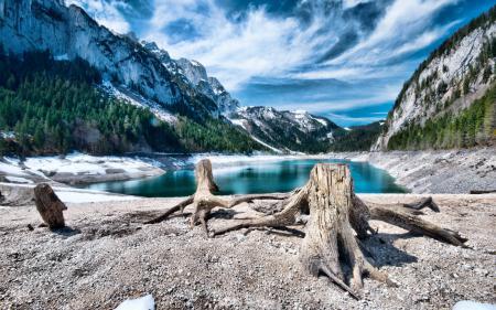 Картинки горы, небо, озеро, пейзаж