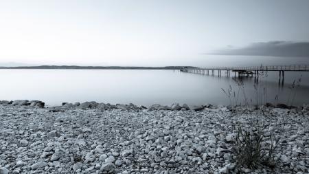 Заставки река, мост, пейзаж
