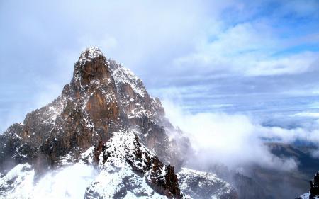 Картинки пейзаж, природа, горы, высота