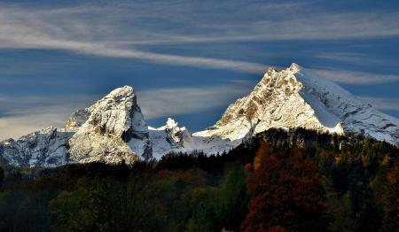 Фотографии Альпы, горы, осень