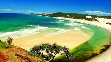 Картинки природа, небо, море, залив