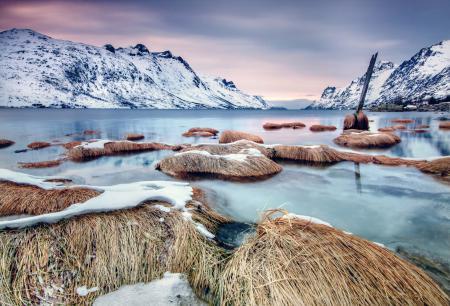 Фотографии пейзаж, природа, горы, зима