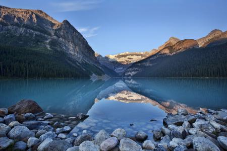 Заставки Moraine Lake, Banff National Park, канада, озеро