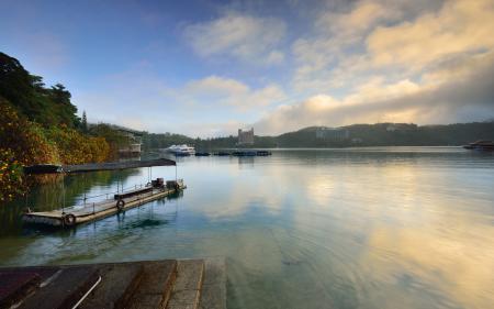 Фотографии озеро, вода, лодка, баркас