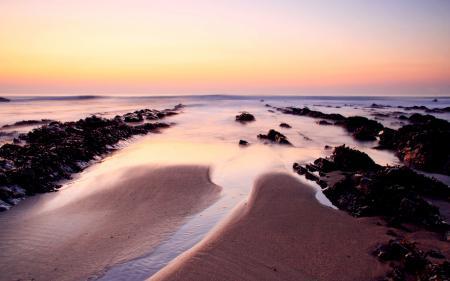 Фотографии Tide, закат, море