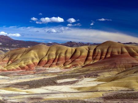 Обои местность, горы, рельеф, порода