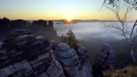 Фото природа, пейзаж, горы, горизонт