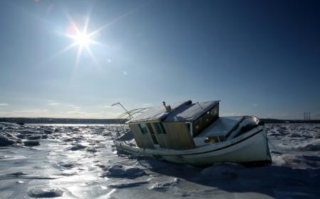 Фото природа, пейзаж, зима, лед