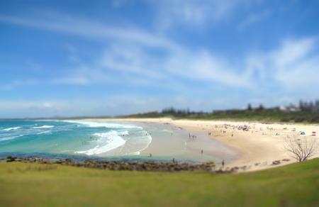 Фото Pippi Beach, Yamba, Австралия, пляж