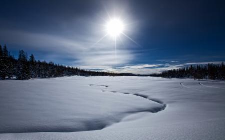 Картинки frozen lost lake, зима, озеро, снег
