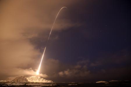 Обои пространство, небо, ракета, запуск