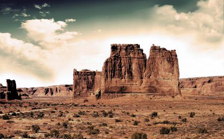 Заставки природа, пейзаж, пустыня, небо