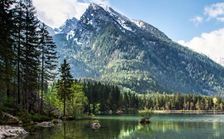 Заставки озеро, горы, природа, пейзаж