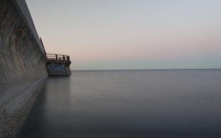 Фотографии море, сумерки, пирс