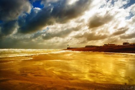 Фотографии пляж, песок, море, волны