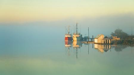 Картинки небо, озеро, море, утро