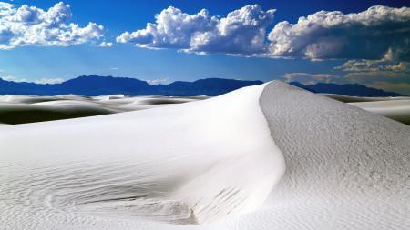 Заставки песок, пустыня, пейзаж, облака