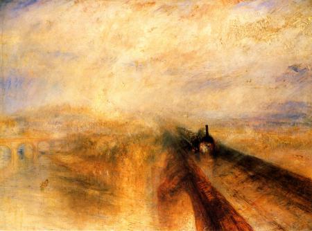 Картинки дождь пар и скорость, уильям тёрнер, романтизм, импрессионизм