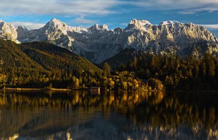 Заставки гора, озеро, quiet mountain