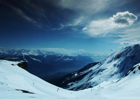Фотографии Snow highlands, горы, снег, высота