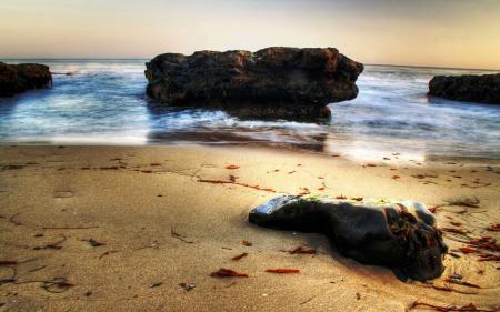 Обои пейзажи, фото, камни, берег
