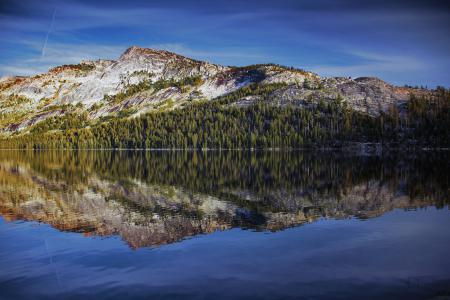Картинки вода, небо, гора, лес