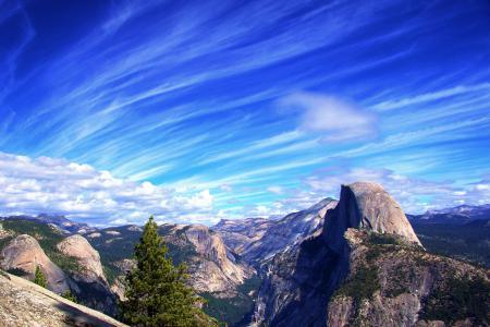 Картинки небо, облака, горы