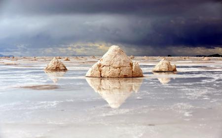 Фотографии озеро, соль, природа, пейзаж