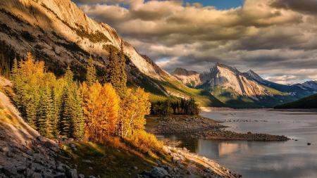 Картинки небо, облака, тучи, горы