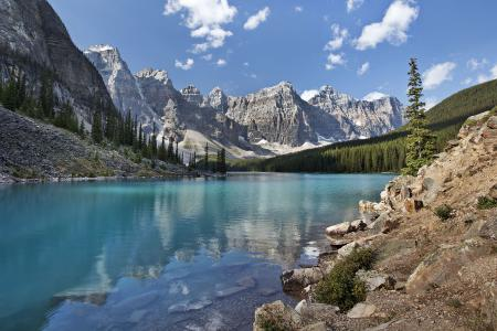 Фото Moraine Lake, Banff National Park, канада, озеро