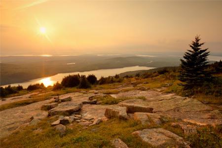 Обои Maine, сша, горизонт, небо