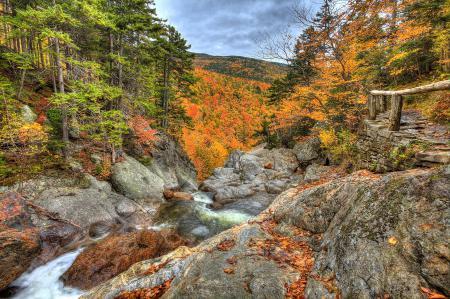 Фотографии пейзаж, США, осень, камни