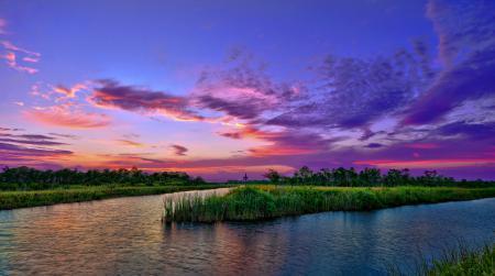 Картинки природа, пейзаж, небо, озеро