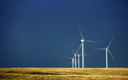 Заставки поле, ветряки, пейзаж