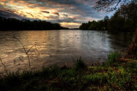 Фотографии река, Польша, Dadaj, природа