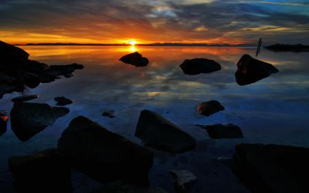Заставки пейзаж, природа, nature, закат