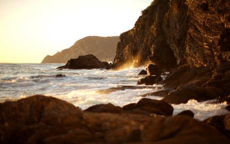 Фото пейзажи, вода, камень, камни
