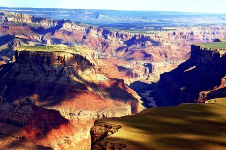 Фотографии Grand Canyon, скалы, тени