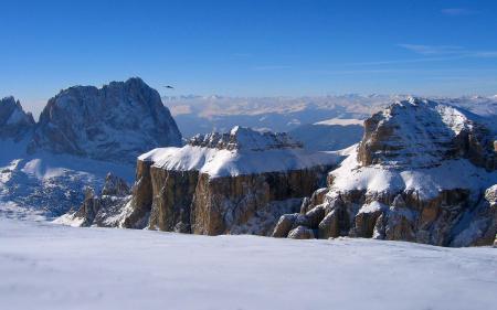 Картинки снег, горы, высота, горизонт