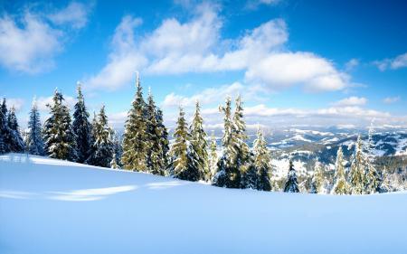 Обои пейзажи, фото, зимние обои, зима