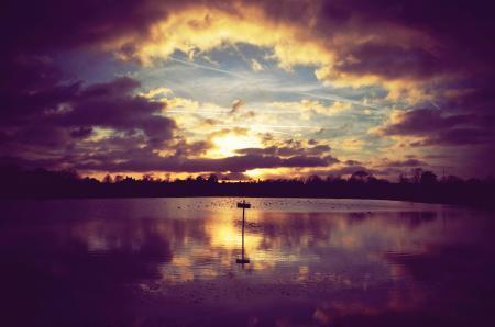 Фото пейзаж, природа, река, берег