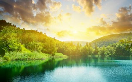 Заставки природа, пейзаж, солнце