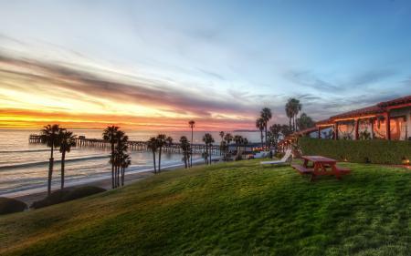 Обои пейзажи, вечера, закаты солнца, hdr wallpapers