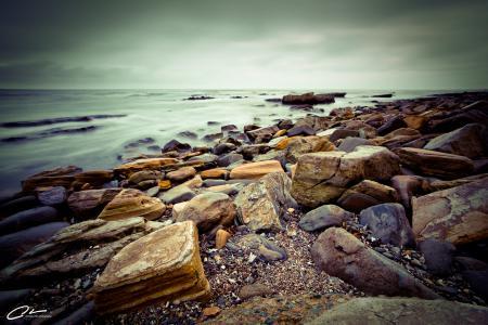 Фото пейзажи, море, камни, небо